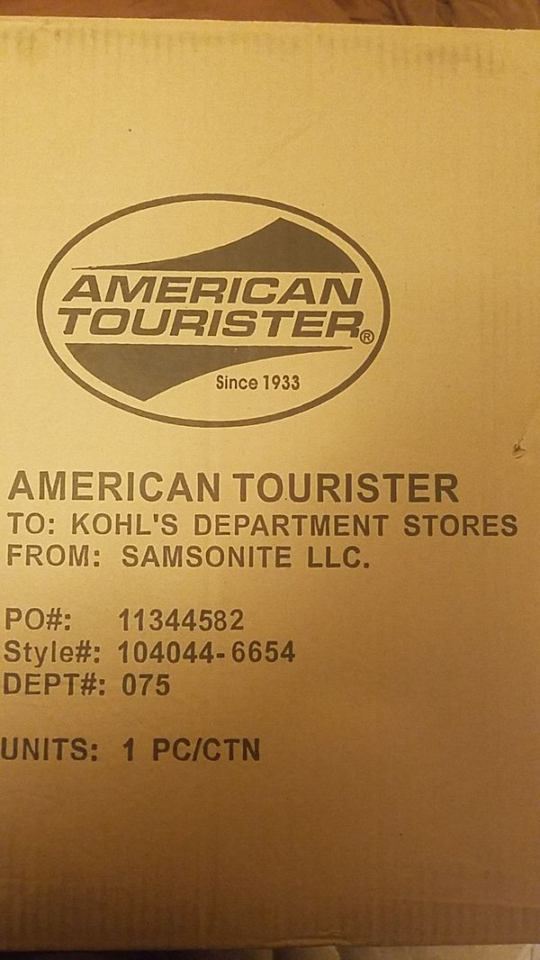 American tourister compass luggage