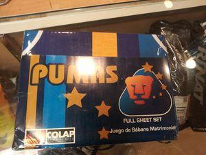 Pumas full sheet set for Sale in Bellflower, CA