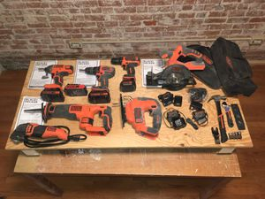 Black & Decker Power Tool Kit+ for Sale in Watertown, MA