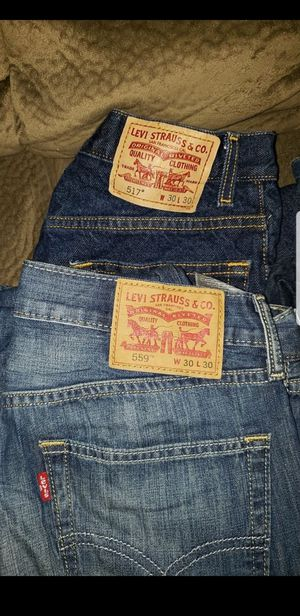 Levi pants $15 each for Sale in Pasadena, TX