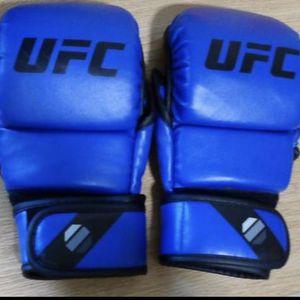 Blue UFC 8oz MMA Sparring Gloves for Sale in Columbus, GA