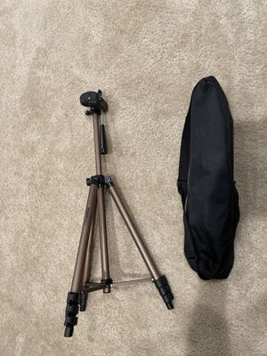"Lightweight Camera Mount Tripod Stand With Bag - 16.5 - 50"" for Sale in Irvine, CA"