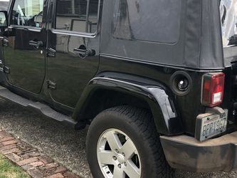 Wrangler 4 Door Soft Top 2007 (and Other Years)MAKE OFFER for Sale in Tacoma,  WA