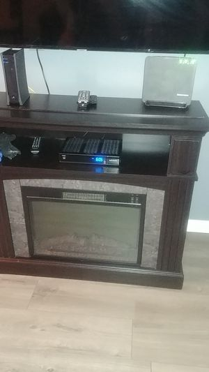 Tv stand Fireplace for Sale in Sanford, FL