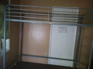 Gray Bunk Beds... FRAME ONLY for Sale in Fresno, CA