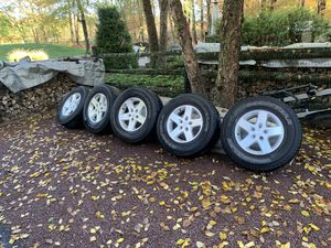 Jeep wheels and tires (Jeep JK) for Sale in Doylestown, PA