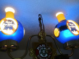 Antique Pool Table Light ~ Pabst Blue Ribbom for Sale in Rutherfordton, NC