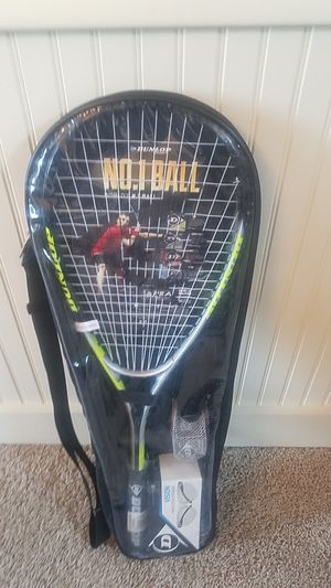 Squash racket set by Dunlop for Sale in Sandy, UT