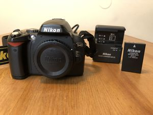 Nikon D40 Camera body, battery, charger, and strap for Sale in Los Angeles, CA