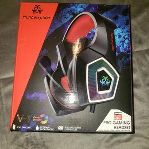 Headphones Gamer Hunterspider. Ps5, Ps4, Xbox for Sale in Hobart, IN