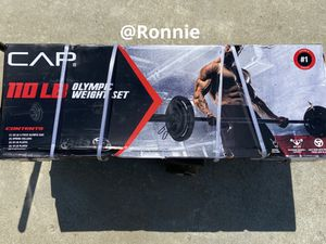 110LB Olympic weight for Sale in Riverside, CA