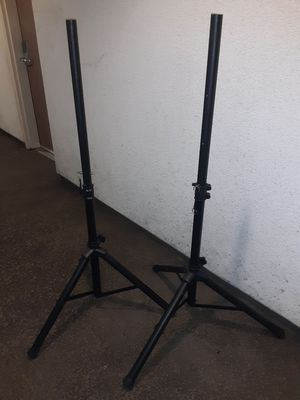 Speaker stands, barely used! for Sale in Los Angeles, CA
