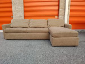 BLOOMINGDALE'S Sectional Sofa / Couch in EXCELLENT CONDITION - DELIVERY NEGOTIABLE for Sale in Boca Raton, FL