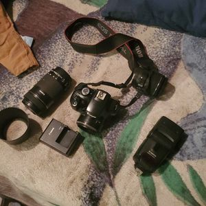 Camera Equipment: Canon T3 Rebel for Sale in Las Vegas, NV