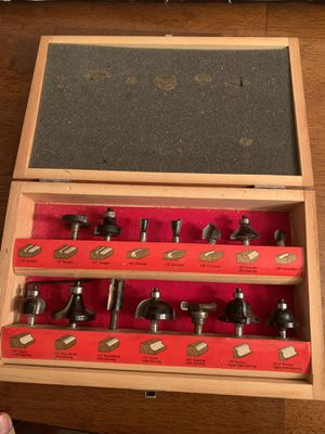 Skil Router Woodworking Bit Set for Sale in Ocala, FL