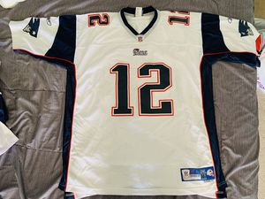 Reebok NFL Tom Brady Patriots Away Authentic Jersey sz 2XL for Sale in Fountain Valley, CA