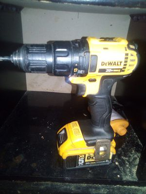 DeWalt drill gun 20 v for Sale in North Providence, RI