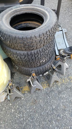 """A/T TRAILER 14"""" TIRES for Sale in East Stroudsburg, PA"""