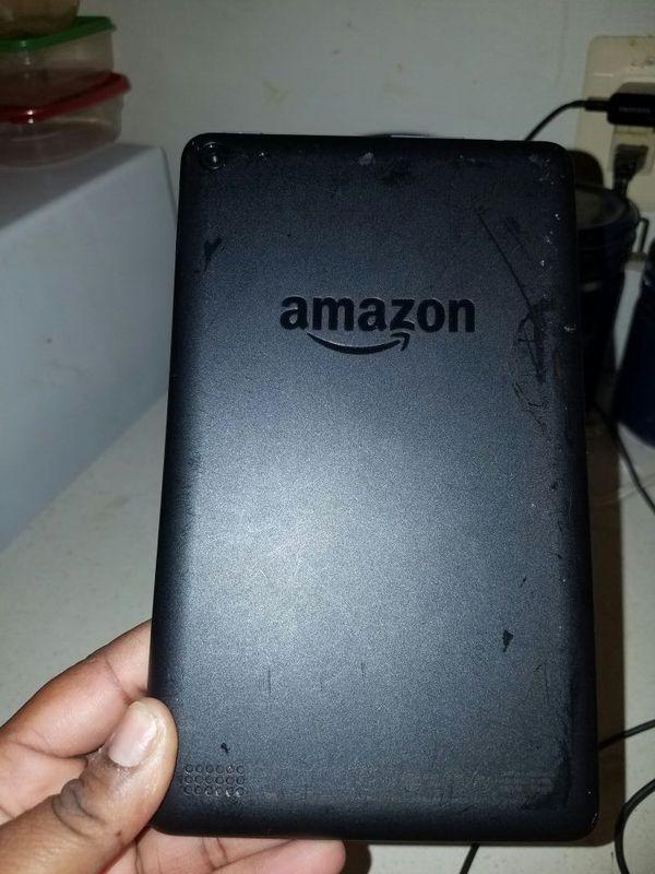 Amazon Fire Black Tablet