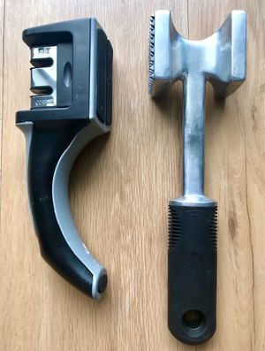 Knife sharpener and oxo meat tenderizer, price is for all for Sale in Orlando, FL