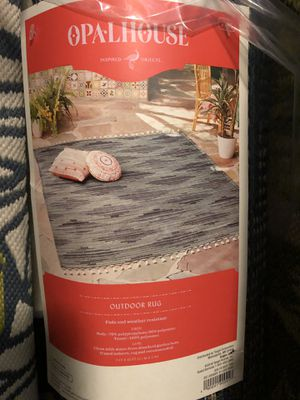 Opal house indoor/outdoor rugs for Sale in San Antonio, TX
