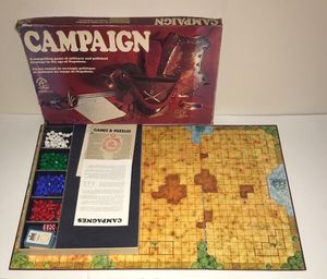 Rare Vintage Campaign Board Game instructions are in French for Sale in Port St. Lucie, FL