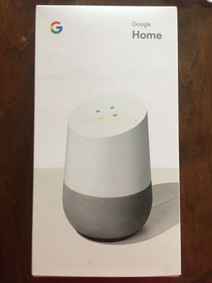 Brand new sealed original packaged 2018 Google Home Bluetooth speaker Voice Assisted for Sale in Strongsville, OH