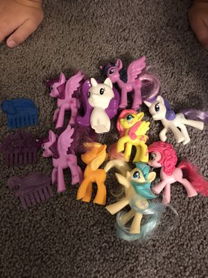 My little pony toys! for Sale in Lacey, WA