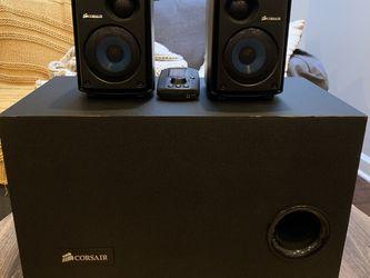 Corsair SP2500 2.1 Speaker System for Sale in Washington,  DC