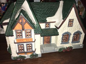 Hand painted porcelain house that lights up for Sale in Hurricane, WV