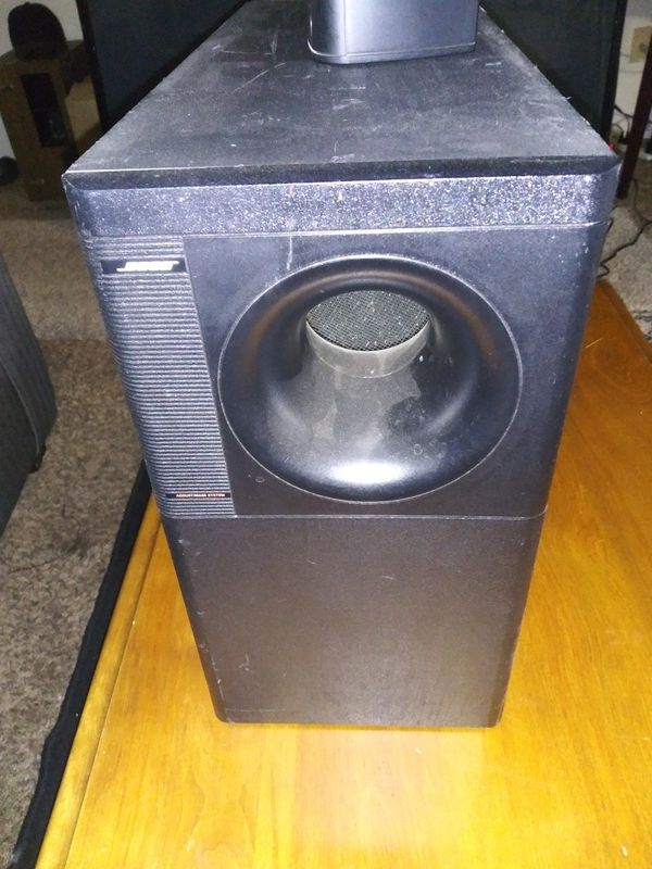 Bose Acoustimass Subwoofer and Two speakers