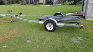 19 ft Trailstar boat trailer with folding tongue for Sale in Winter Haven, FL