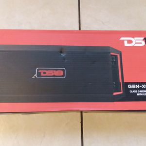 Ds18 GENX 6000.1 Class D Monoblock Amplifier 1 Channel 6000watts for Sale in Hollywood, FL