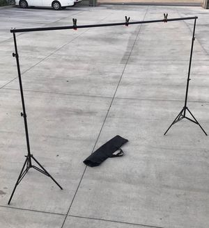 New in box 7 feet tall expand up to 10 feet wide back drop photography backdrop stand for Sale in Los Angeles, CA