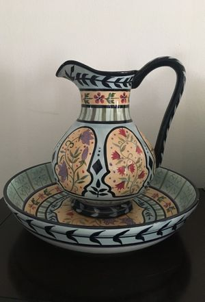 Antique decorative Glass Pitcher for Sale in Takoma Park, MD