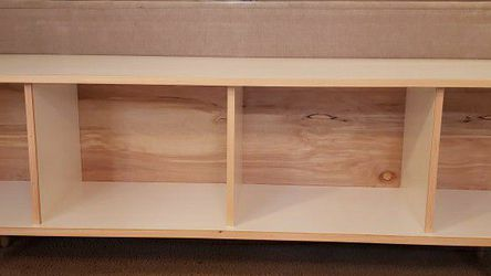 "Modern 80"" All Wood Media Storage for Sale in Portland,  OR"