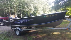 Smokercraft 14ft Deep Vee boat for Sale in Montesano, WA