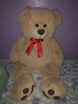 Semi New Giant Teddy Bear for Sale in Houston, TX