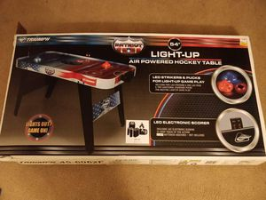 Light-Up Air Powered Hockey Table for Sale in Davis, CA