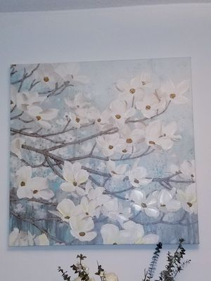 Dogwood flower painting for Sale in Arlington, VA