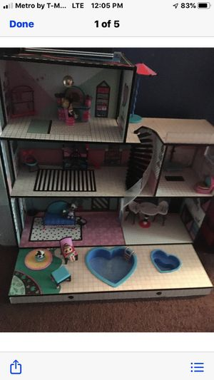LoL doll house for Sale in Desert Hot Springs, CA