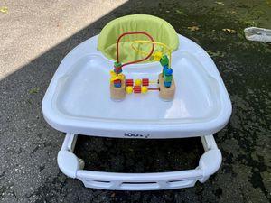 Joovy Spoon Baby Walker w/Melissa & Doug Wooden Bead Maze for Sale in Waynesboro, VA