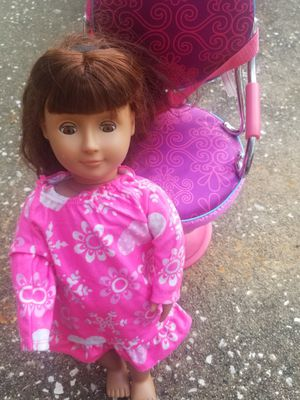 Our generation doll and chair for Sale in Humble, TX