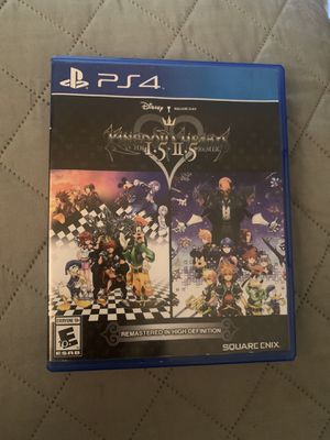 Kingdom Hearts 1.5x2.5 Remix PS4 for Sale in Los Angeles, CA