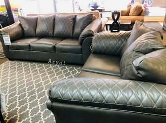 🔥Best Price Brand🆕️ Betrillo Black Living Room Set for Sale in Bailey's Crossroads,  VA