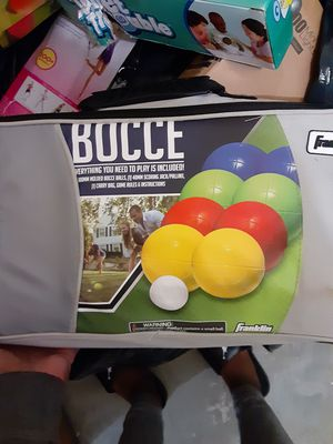 Bocce toy game for Sale in Cleveland, OH