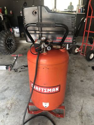 Compressor Craftman for Sale in Katy, TX