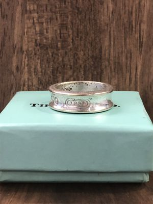 Tiffany And Co Silver 1837 Ring for Sale in New York, NY