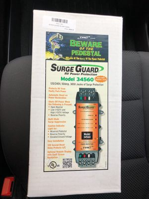 Surge Guard RV 50 amp power protector Model 34560 NEW in Box for Sale in Minneapolis, MN