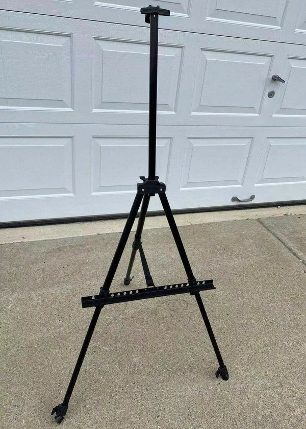 NEW Adjustable Folding 21 to 62 Inch Height Painting Portrait Display Drawing Easel tripod With Carrying Bag